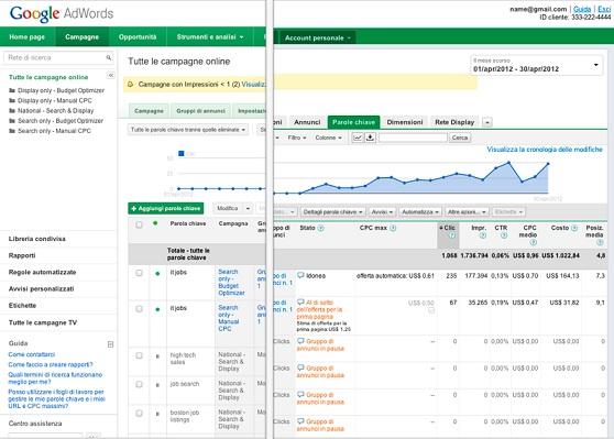 In arrivo il restyilng di Google AdWords