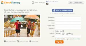 Couchsurfing è un'esperienza di scambio linguistico e culturale