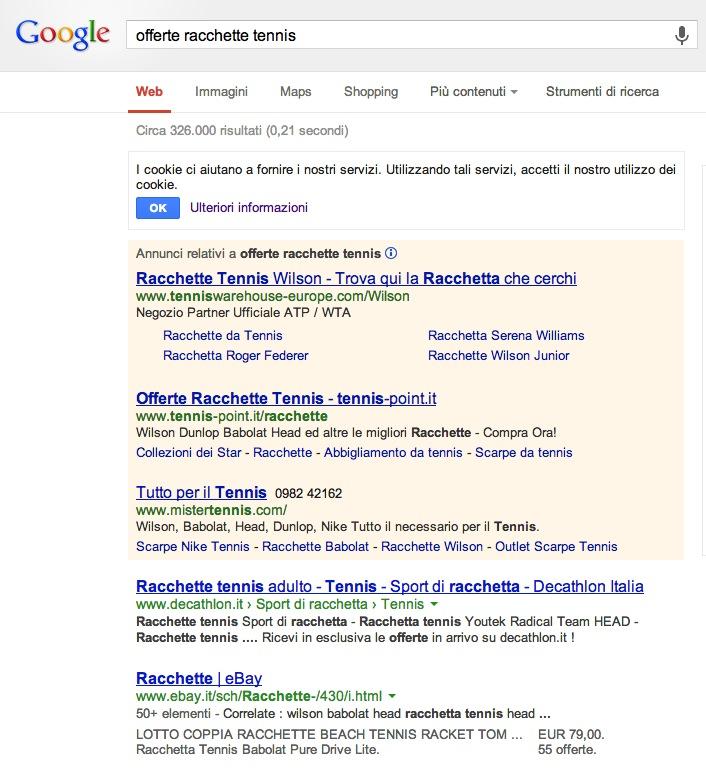 ricerca-offerte-racchette