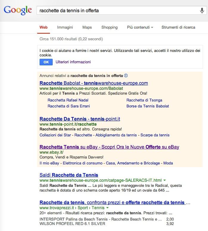 ricerca-racchette-offerta