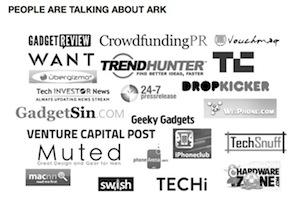 Le principali testate giornalistiche seguono da vicino i progetti pubblicati sulle più importanti piattaforme di crowdfunding