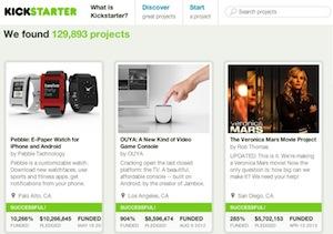 Alcuni tra i casi di maggiore successo di crowdfunding reward su kickstarter. com