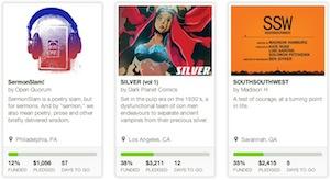 Chi attiva una campagna deve indicare l'importo necessario per portare a termine il progetto. Fonte: kickstarter.com
