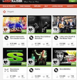 Musicraiser, la piattaforma di crowdfunding 100% made in Italy