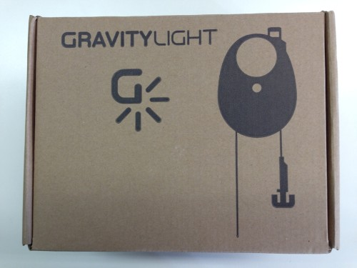 Imballaggio Gravity Light