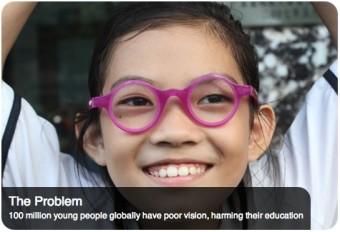 Gli occhiali autoadattanti risolvono i problemi di vista di milioni di persone povere. Fonte: vdwoxford.org
