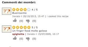 Un ricettario che permetta ai lettori di commentare e valutare le ricette, stimola gli utenti ad interagire (fonte immagine: http://goo.gl/qWuIba)
