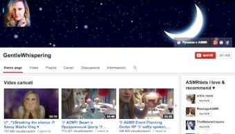 Gentle Whispering, il canale di ASMR più famoso su YouTube