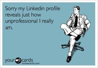 Profili Linkedin abbandonati a sè stessi: un fenomeno fin troppo frequente! (Fonte immagine: http://goo.gl/y9Te9E)