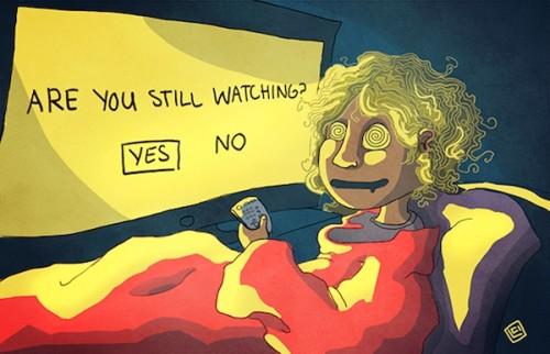 Avete visto tutti gli episodi della prima serie di 24 in un giorno? Sì, siete dei binge watcher (fonte immagine: http://goo.gl/zNOqNs)