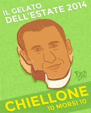 """Il """"Chiellone"""", un po' Chiellini un po' Cucciolone"""