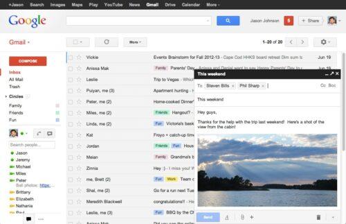 La casella di posta elettronica: uno strumento col quale tutti ormai abbiamo confidenza. O no? (fonte: gmailblog.blogspot.com)