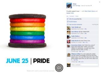 Campagna Oreo Pride Day