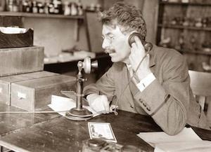 Un telefono vecchio stile