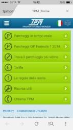 Il sito mobile di Trasporti Pubblici Monzesi