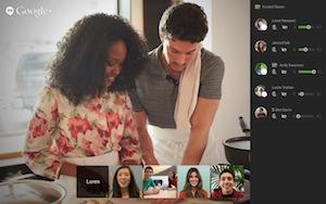 Vedersi, parlare e incontrarsi online con gli Hangout sta diventando sempre più comune (fonte: http://goo.gl/oRMv6a)