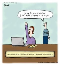 """I MOOC cambiano il modo di """"andare a lezione"""" così come lo conoscevamo (fonte immagine: http://goo.gl/p71NA1)"""