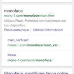Ricerca su Google per il sito mono-1.com