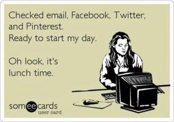 Social network in azienda: lavoro o distrazione? (fonte immagine: http://goo.gl/jJH12T)