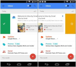 Inbox di Gmail