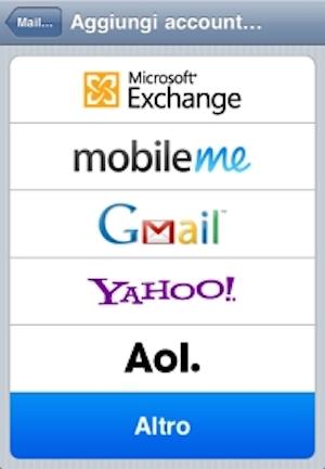 Apple Mail per iPhone e iPad