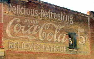 Bevi Coca Cola, deliziosa e rinfrescante, ti dà sollievo dalla stanchezza