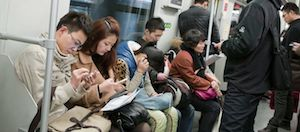 smartphone metropolitana shanghai
