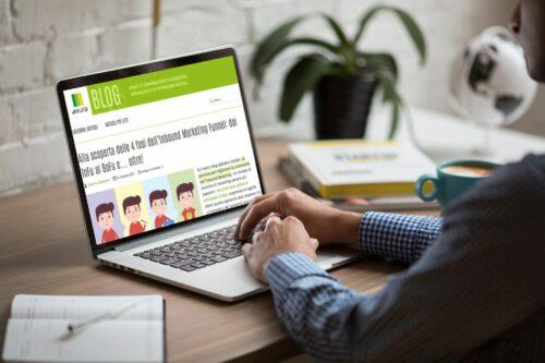 post blog aziendale